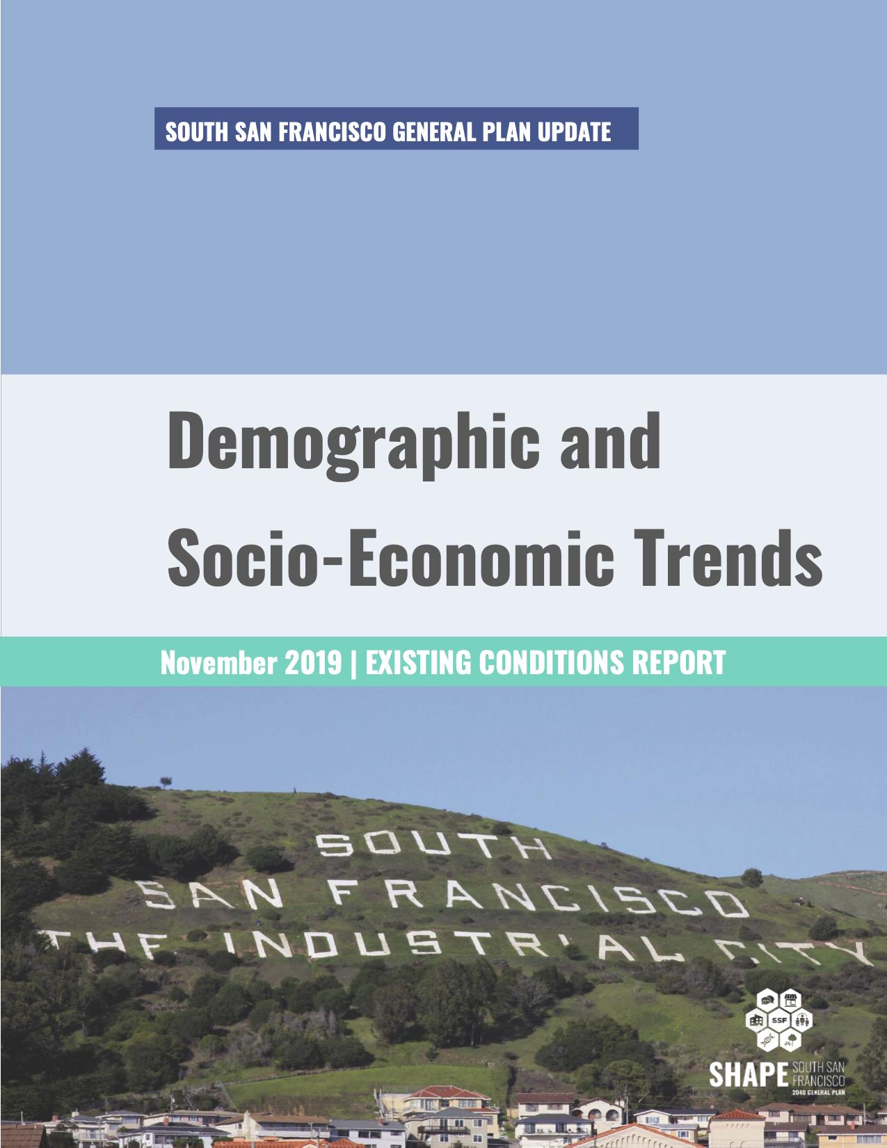 Demographic and Socio-Economic Trends